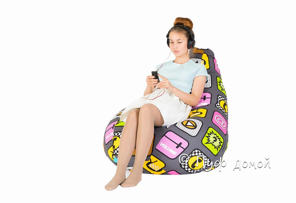 Кресло-мешок бин-бег Плей