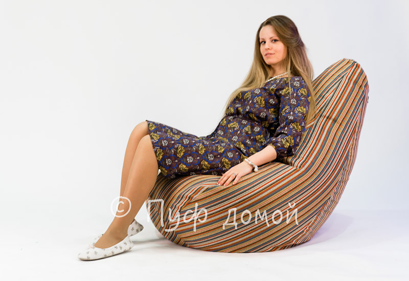 Кресло-мешок бин-бег Страйп 1