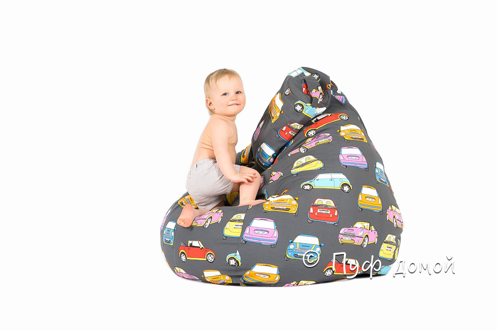 Детский пуфик-мешок Мини