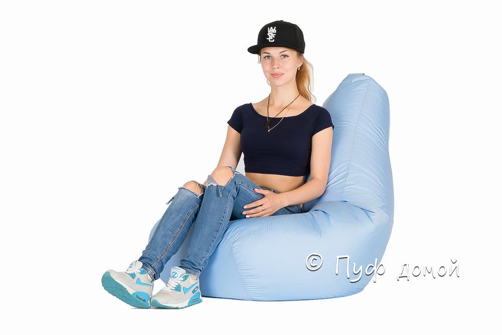 Кресло-мешок Standard Небесно-голубой