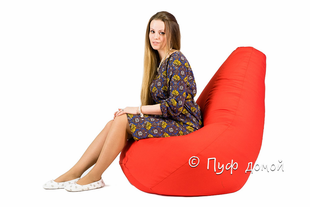 Кресло мешок bean bag красное