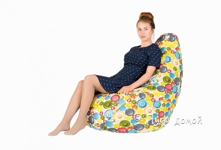 Кресло-мешок бин-бег Баттонс