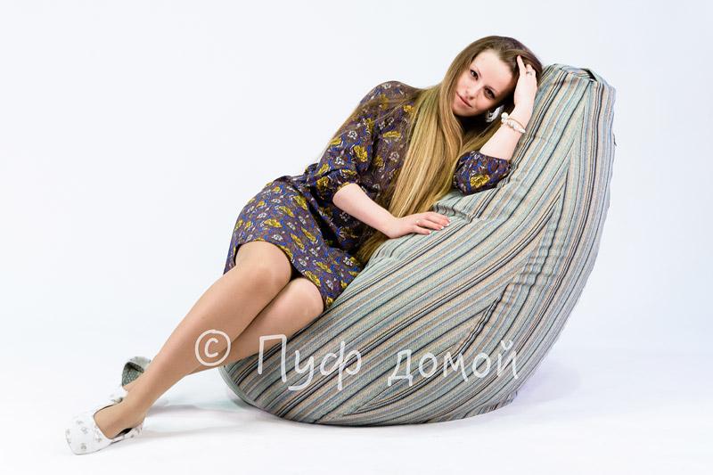 Кресло-мешок бин-бег Страйп 2