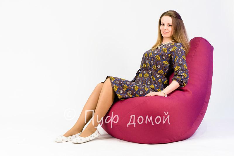 Кресло мешок bean bag фуксия