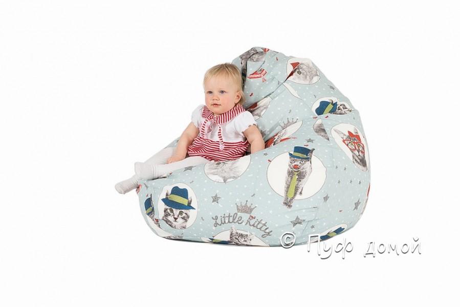 Детское кресло-груша Литл Кити