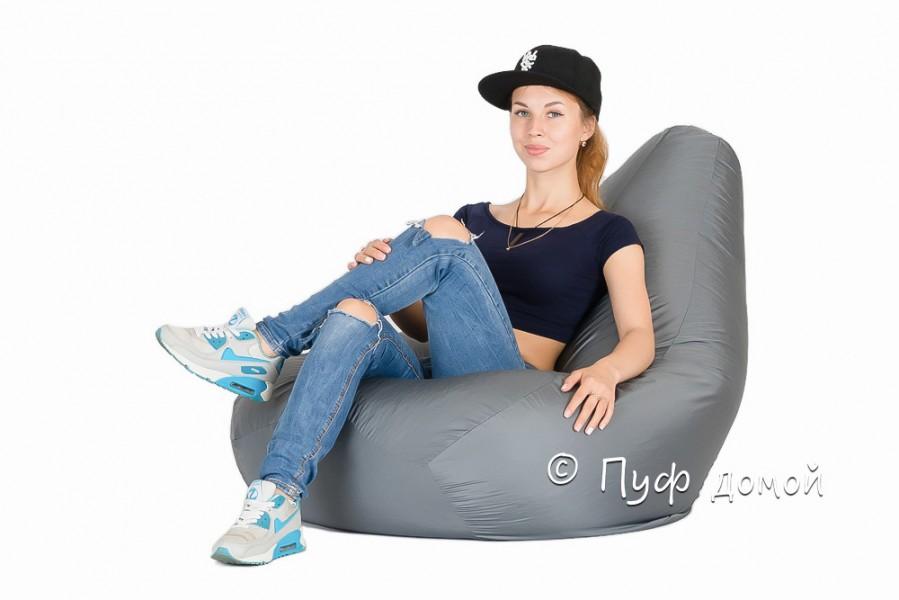 Кресло-мешок Standard Темно-серый